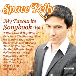 "SPACE KELLY – ""My Favourite Songbook Vol.2"" (CD-Digipack)"